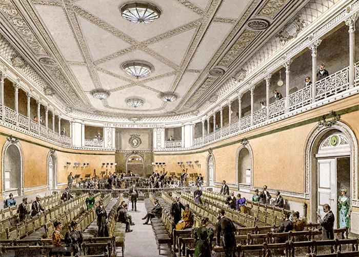 Konzertsaal Altes Gewandshaus - Gottlob Theuerkauf
