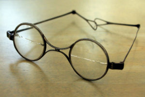 Franz Schubert's Brille via Wikipedia