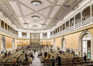 Anton Bruckner's Symphony No. 2 by William Carragan, Image via Wikipedia Konzertsaal Altes Gewandshaus - Gottlob Theuerkauf