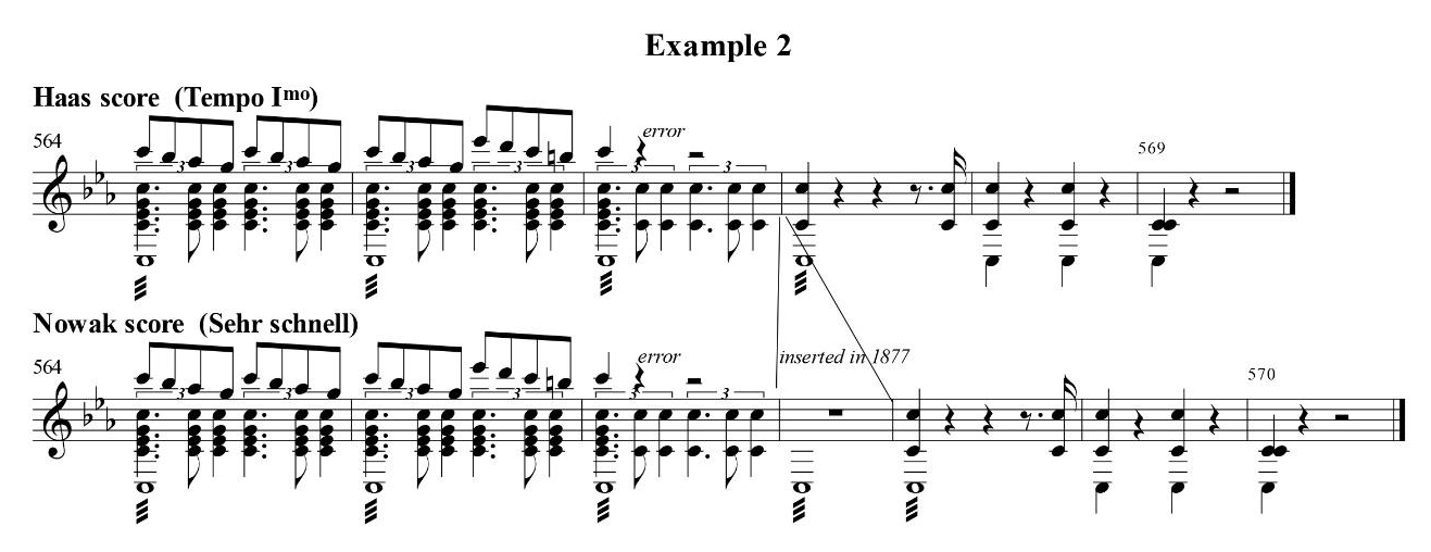 Carragan - Eighty Years of the Bruckner Second - Example 2